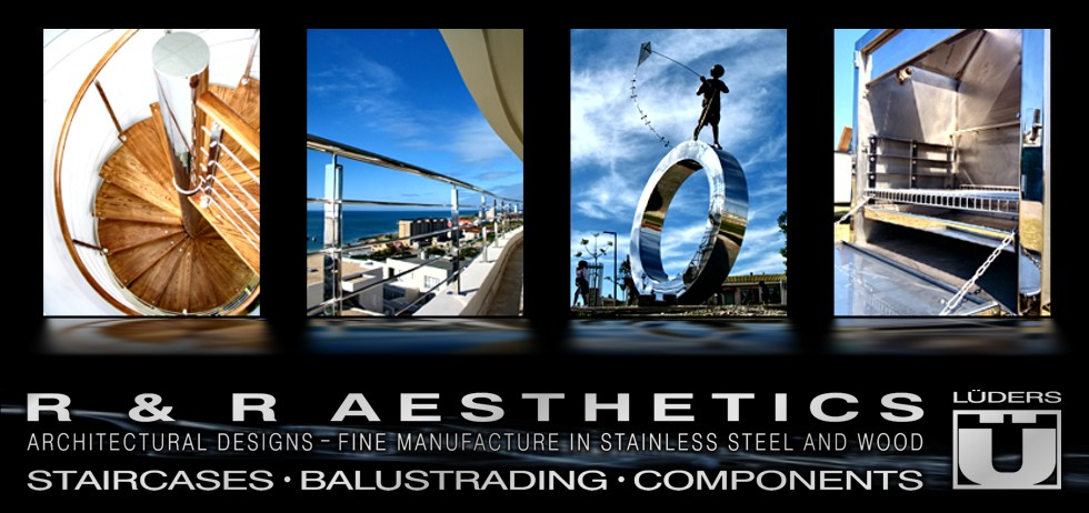 R&R Aesthetics Staircases Balustrading Architectural Components Stainless Steel Built-in Braais